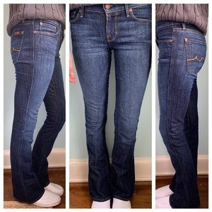 """7 For All Mankind """"Kaylie"""" Bootcut Jeans"""